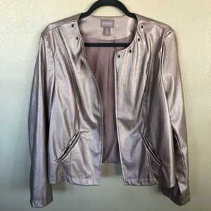 Chico Metallic Moto Style Jacket